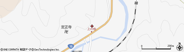 大分県佐伯市直川大字仁田原4124周辺の地図