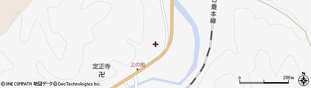 大分県佐伯市直川大字仁田原4181周辺の地図