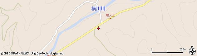 大分県佐伯市直川大字横川3684周辺の地図