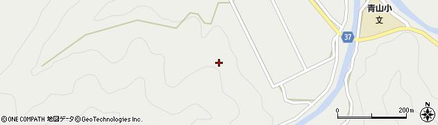 大分県佐伯市青山川井区周辺の地図