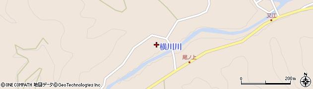 大分県佐伯市直川大字横川2312周辺の地図
