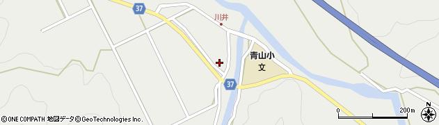 大分県佐伯市青山5463周辺の地図