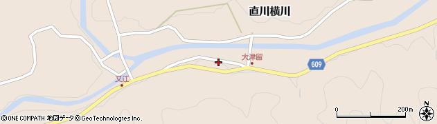 大分県佐伯市直川大字横川3815周辺の地図
