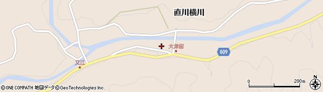 大分県佐伯市直川大字横川3790周辺の地図
