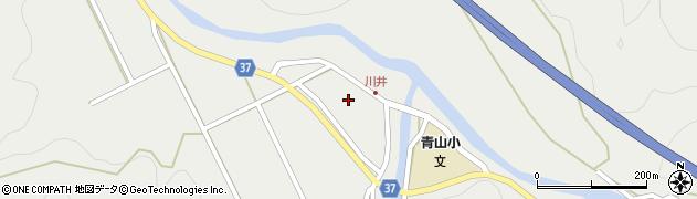 大分県佐伯市青山5444周辺の地図