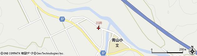 大分県佐伯市青山5404周辺の地図