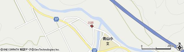 大分県佐伯市青山5399周辺の地図