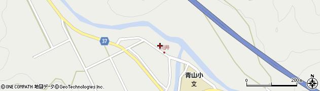 大分県佐伯市青山5406周辺の地図