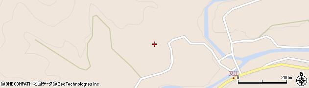 大分県佐伯市直川大字横川2192周辺の地図