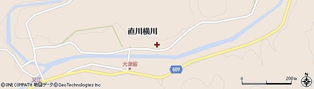 大分県佐伯市直川大字横川902周辺の地図