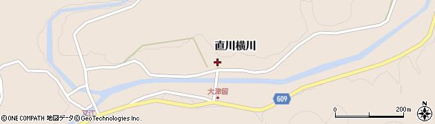 大分県佐伯市直川大字横川949周辺の地図