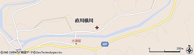 大分県佐伯市直川大字横川898周辺の地図