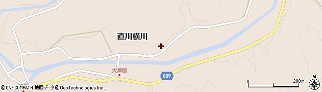 大分県佐伯市直川大字横川894周辺の地図