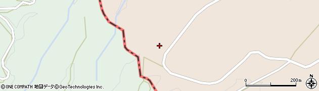 大分県竹田市荻町陽目倉小野周辺の地図