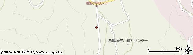 大分県佐伯市米水津大字色利浦1560周辺の地図