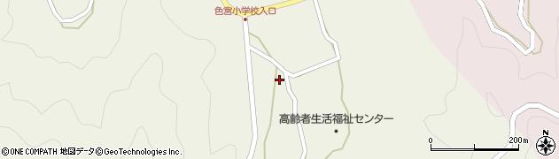 大分県佐伯市米水津大字色利浦1566周辺の地図