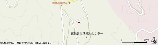 大分県佐伯市米水津大字色利浦1742周辺の地図
