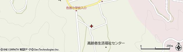 大分県佐伯市米水津大字色利浦1745周辺の地図