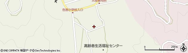 大分県佐伯市米水津大字色利浦1741周辺の地図