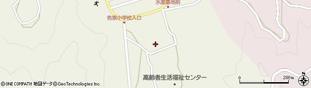 大分県佐伯市米水津大字色利浦1746周辺の地図