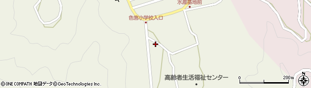 大分県佐伯市米水津大字色利浦1563周辺の地図