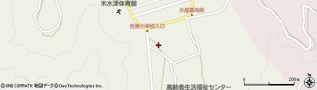 大分県佐伯市米水津大字色利浦1531周辺の地図