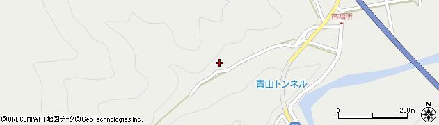 大分県佐伯市青山6744周辺の地図