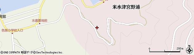大分県佐伯市米水津大字宮野浦48周辺の地図