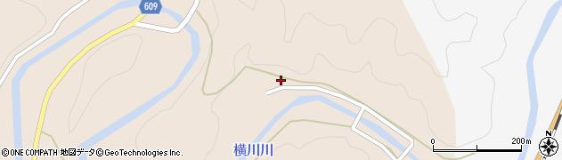 大分県佐伯市直川大字横川292周辺の地図