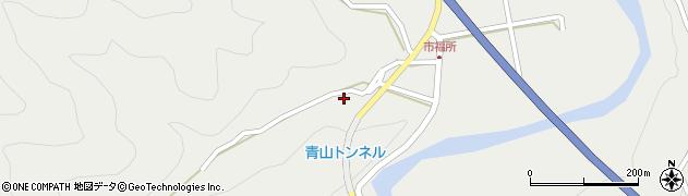 大分県佐伯市青山6723周辺の地図