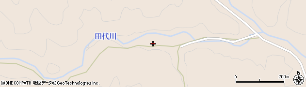 大分県佐伯市宇目大字小野市147周辺の地図