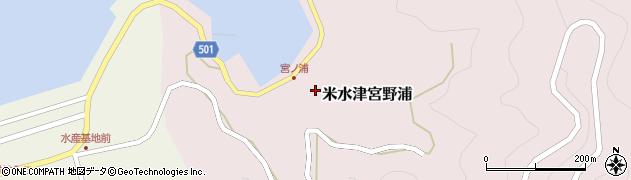 大分県佐伯市米水津大字宮野浦153周辺の地図