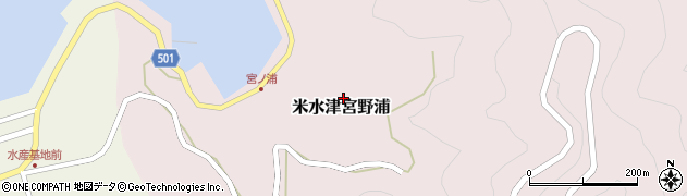大分県佐伯市米水津大字宮野浦342周辺の地図