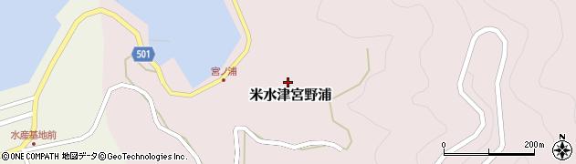 大分県佐伯市米水津大字宮野浦403周辺の地図