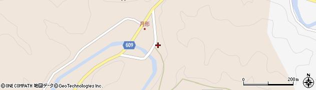 大分県佐伯市直川大字横川363周辺の地図