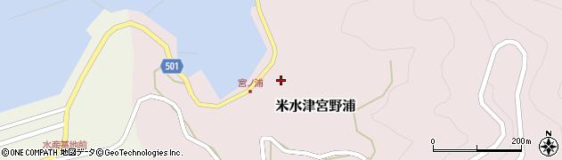 大分県佐伯市米水津大字宮野浦381周辺の地図