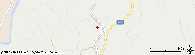 大分県竹田市九重野3896周辺の地図