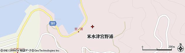 大分県佐伯市米水津大字宮野浦384周辺の地図