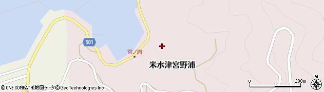 大分県佐伯市米水津大字宮野浦390周辺の地図