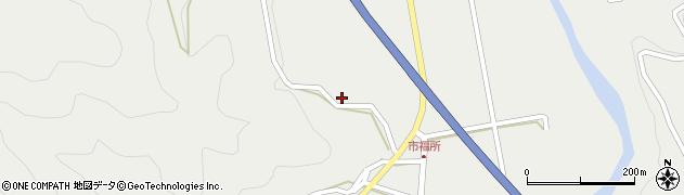 大分県佐伯市青山6598周辺の地図
