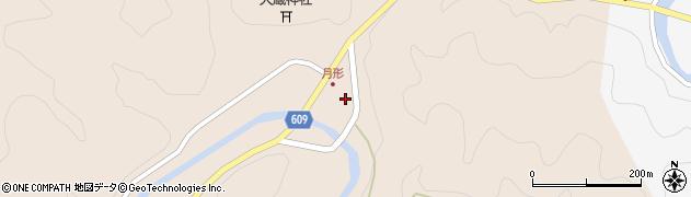 大分県佐伯市直川大字横川508周辺の地図