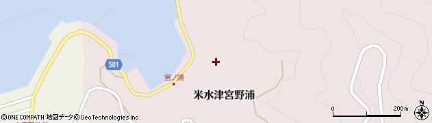 大分県佐伯市米水津大字宮野浦621周辺の地図