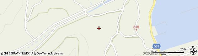 大分県佐伯市米水津大字色利浦1375周辺の地図