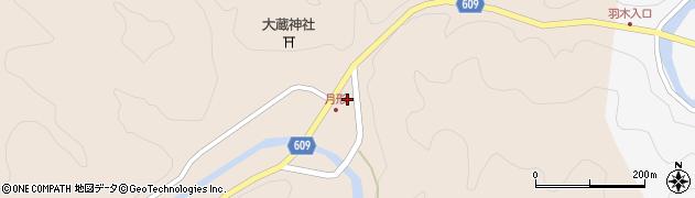 大分県佐伯市直川大字横川489周辺の地図