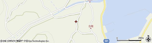 大分県佐伯市米水津大字色利浦1221周辺の地図