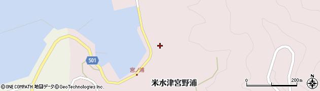 大分県佐伯市米水津大字宮野浦634周辺の地図