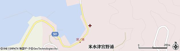 大分県佐伯市米水津大字宮野浦639周辺の地図