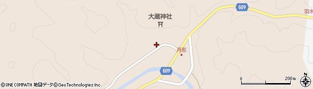 大分県佐伯市直川大字横川529周辺の地図