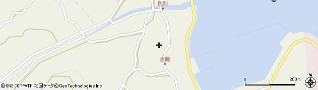 大分県佐伯市米水津大字色利浦1328周辺の地図