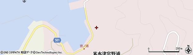 大分県佐伯市米水津大字宮野浦641周辺の地図